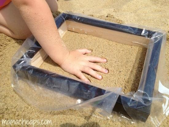 Diy Beach Sand Hand And Footprint Keepsakes Mama Cheaps