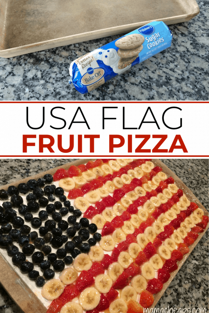 American Flag Fruit Pizza PIN