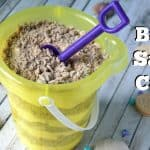 No Bake Sand Cake Bucket