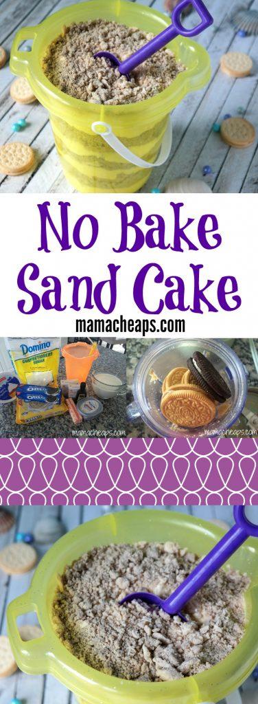 No Bake Sand Cake Recipe