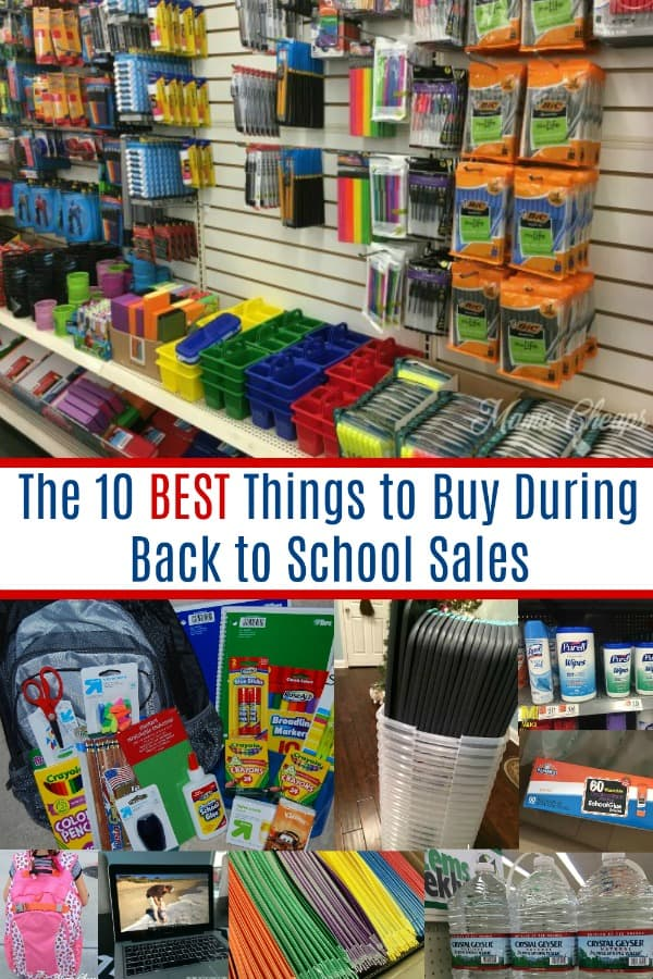 The 10 BEST Things to Buy During Back to School Sales