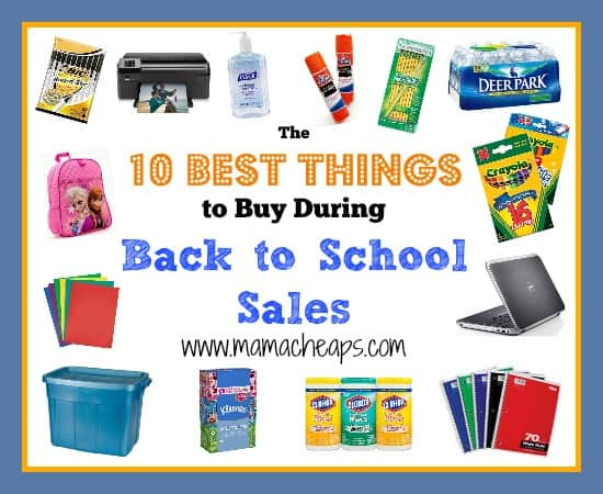 best things to buy during back to school sales