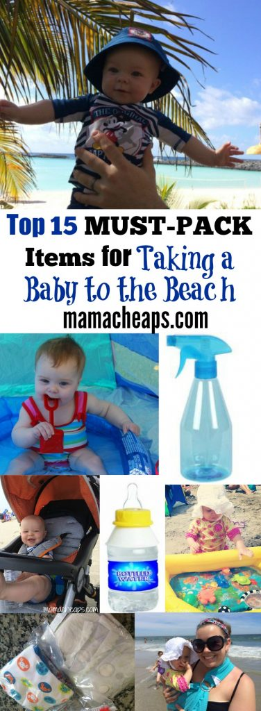 Top 15 MUST-PACK Items for Taking a Baby to the Beach
