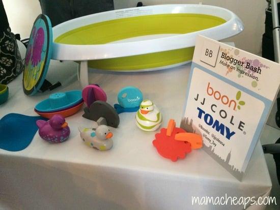 blogger bash nyc babypalooza 2014 boon bath toys