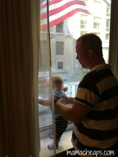 bob landon nyc window courtyard marriott times square west