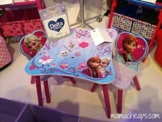 delta children furniture frozen table chairs blogger bash sweet suite 2014