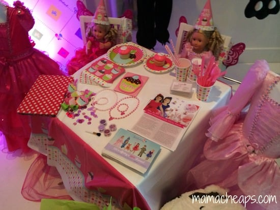 just pretend princess party in a box blogger bash sweet suite 2014