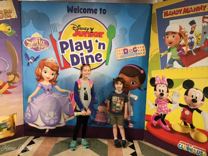 Disney Junior Play and Dine