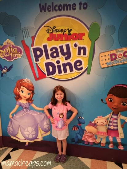 lily at disney junior play and dine hollywood studios 2