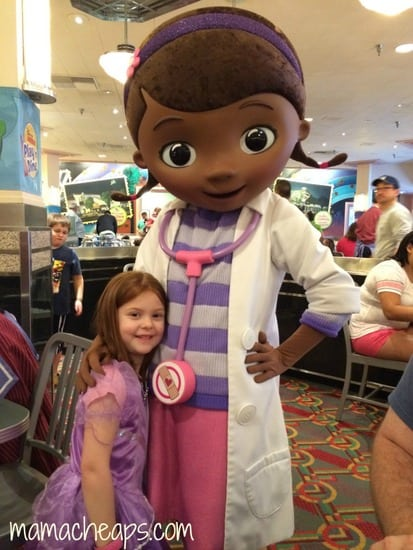lily at disney junior play and dine hollywood studios with doc mcstuffins