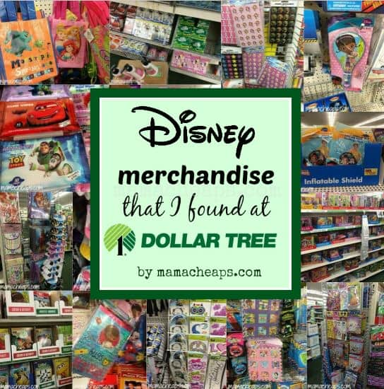Disney merchandise that i found at dollar tree today for Dollar store items online