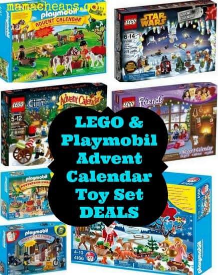 toy advent calendar deals lego playmobil