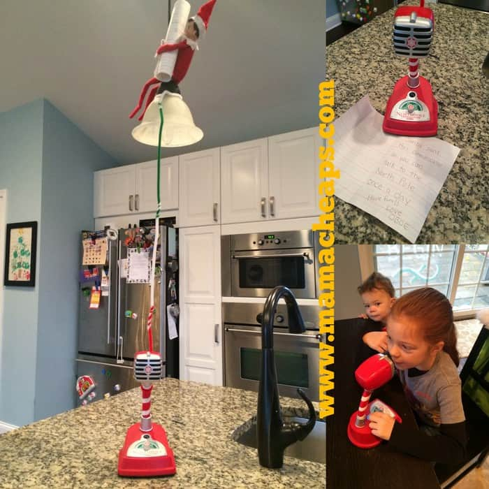 ELF on the SHELF North Pole Communicator