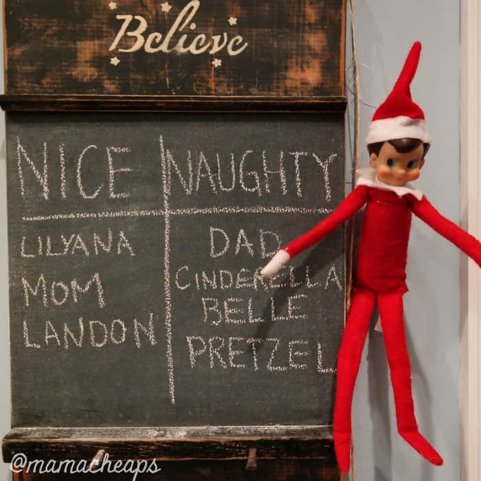 Elf Nice List
