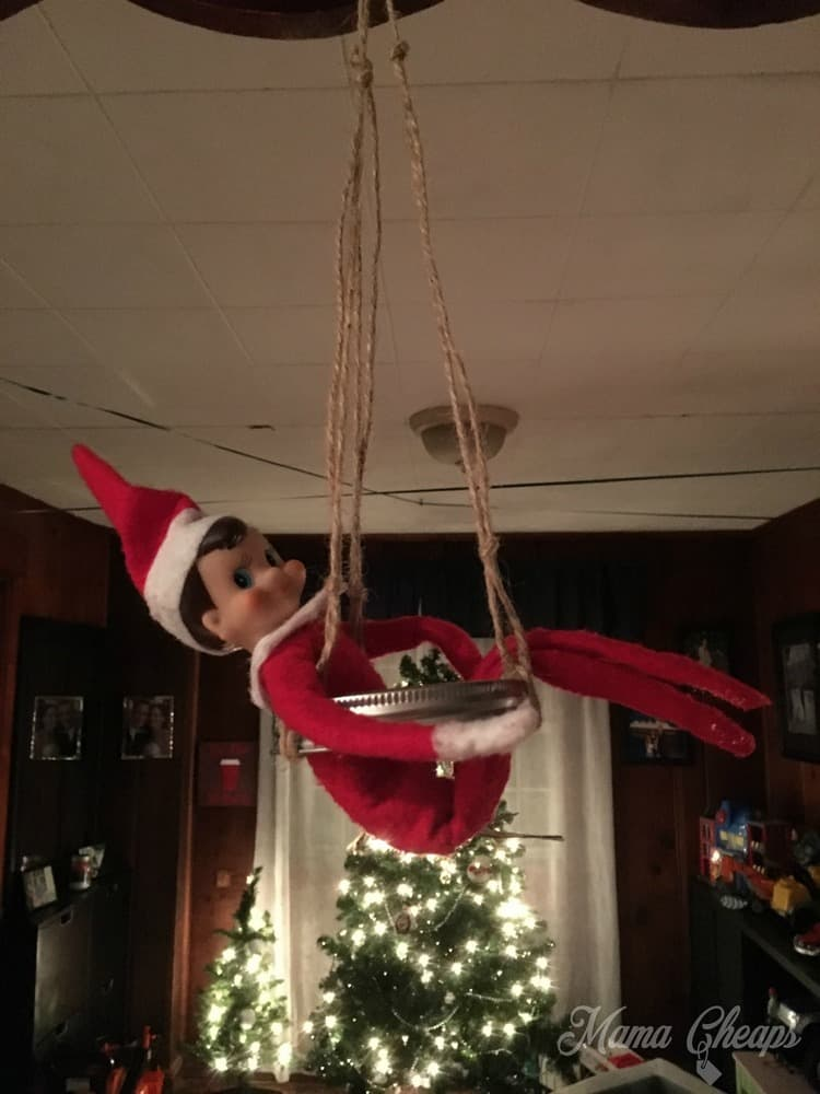 Elf Tire Swing