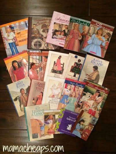 JBF Just Between Friends american girl books