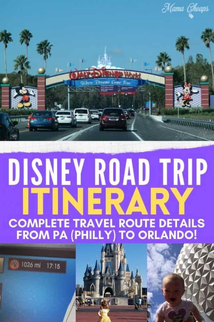 PA to FL Itinerary PIN