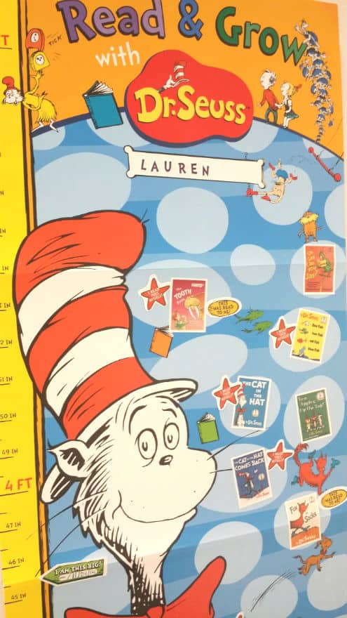 dr seuss growth chart