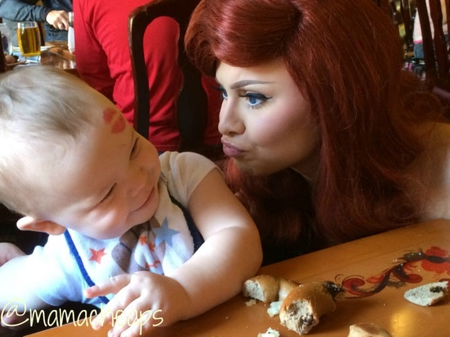 landon and ariel disney epcot akershus