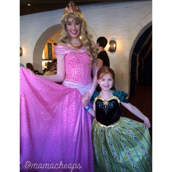 lily akershus princess breakfast aurora sleeping beauty