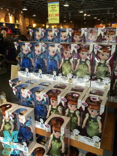 disney store orlando outlet frozen dolls