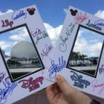 disney world autograph mattes epcot