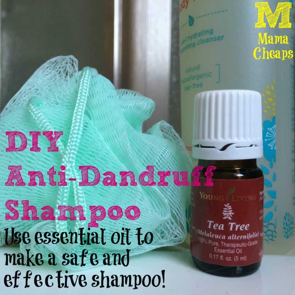 diy dandruff shampoo
