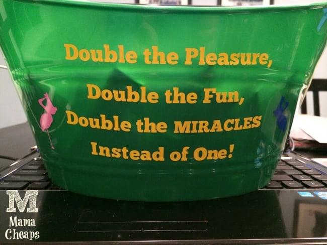 dollar tree bucket