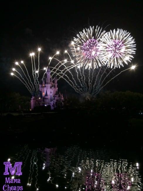 fireworks at tomorrowland terrace dessert party magic kingdom disney