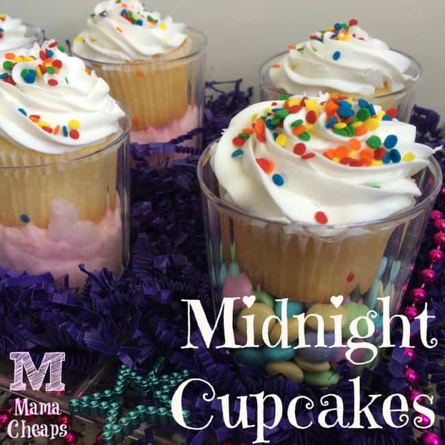 midnight cupcakes princess party snack