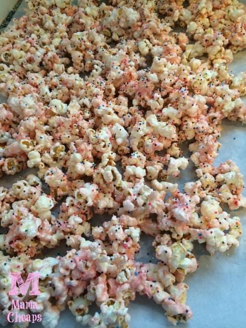 princess popcorn drying