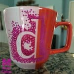sharpie marker mug