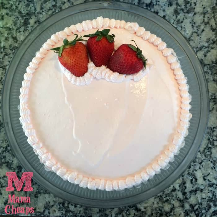 Strawberry Poke Cake MC