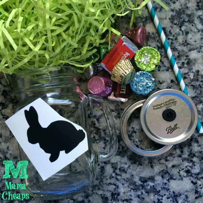 Supplies for Easter Mug