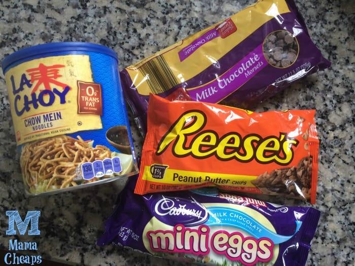chocolate bird nest ingredients