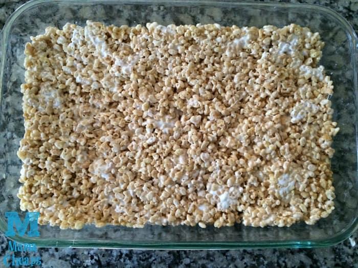 crispy rice treats pan