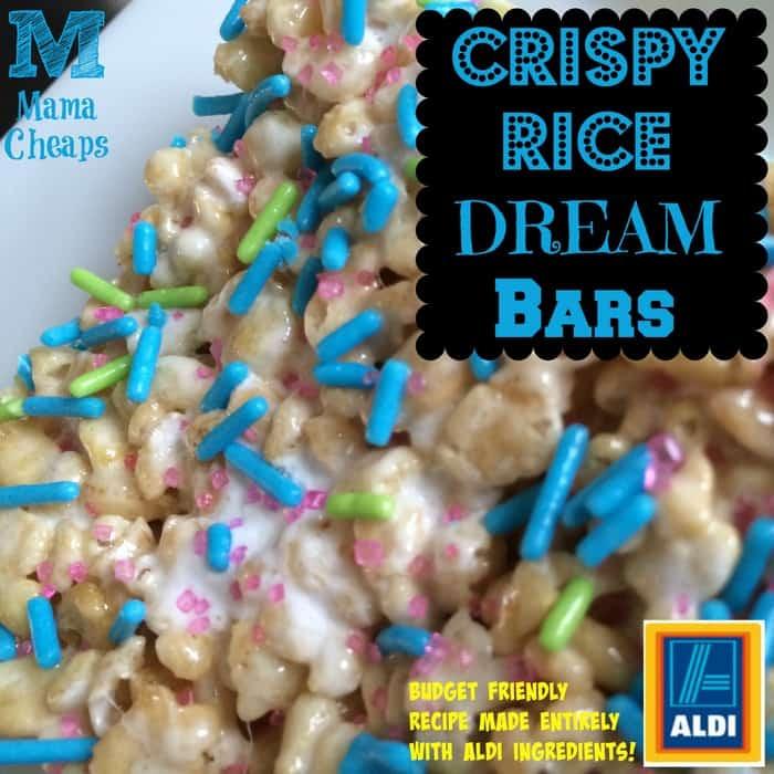 crispy rice treats recipe