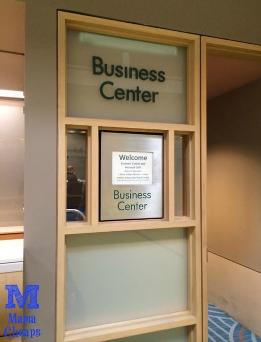 disney contemporary business center