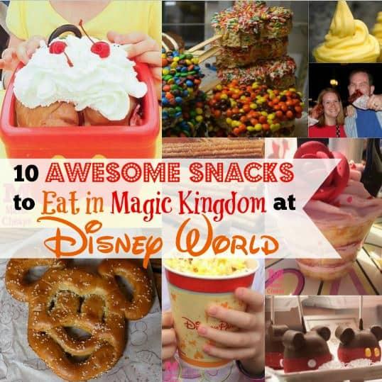 disney snacks magic kingdom