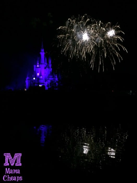 Tomorrowland Terrace Fireworks Dessert Party Castle Show 3