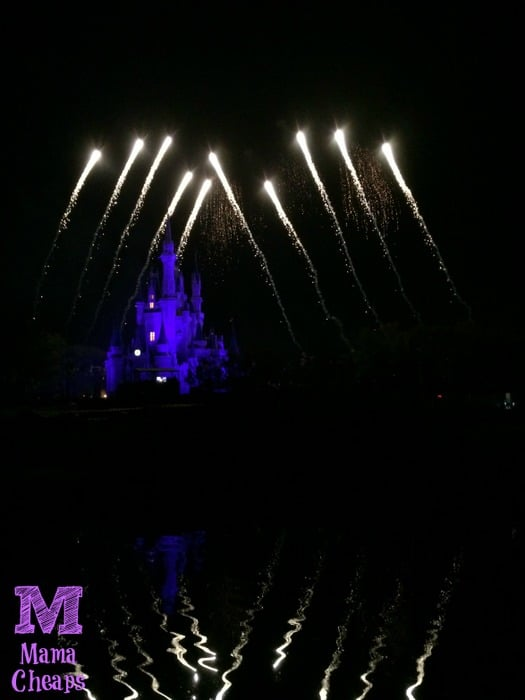 Tomorrowland Terrace Fireworks Dessert Party Castle Show 4