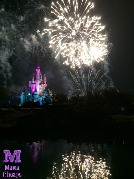 Tomorrowland Terrace Fireworks Dessert Party Castle Show 5