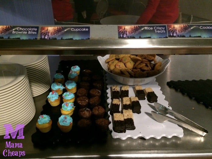 Tomorrowland Terrace Fireworks Dessert Party Castle Show Cupcakes Brownies