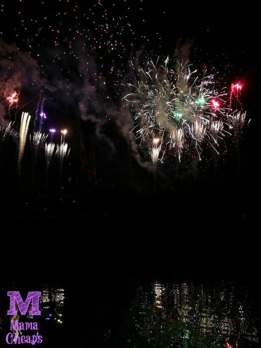 Tomorrowland Terrace Fireworks Dessert Party Castle Show finale