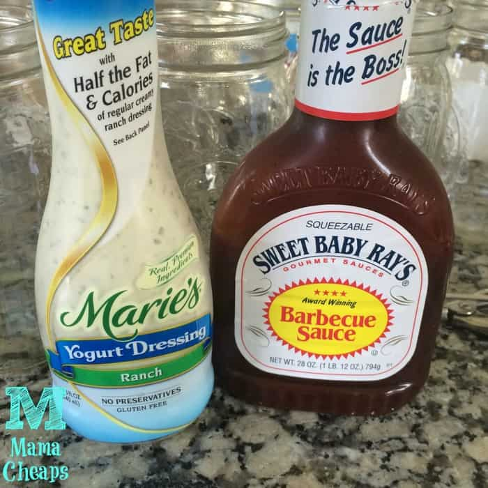 bbq sauce ranch yogurt dressing