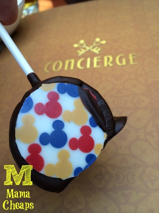 disney dream concierge treats