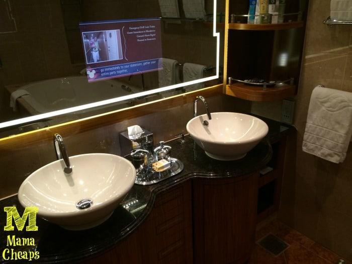 disney dream master bath sinks