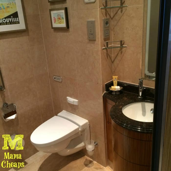disney dream suite 2nd bathroom