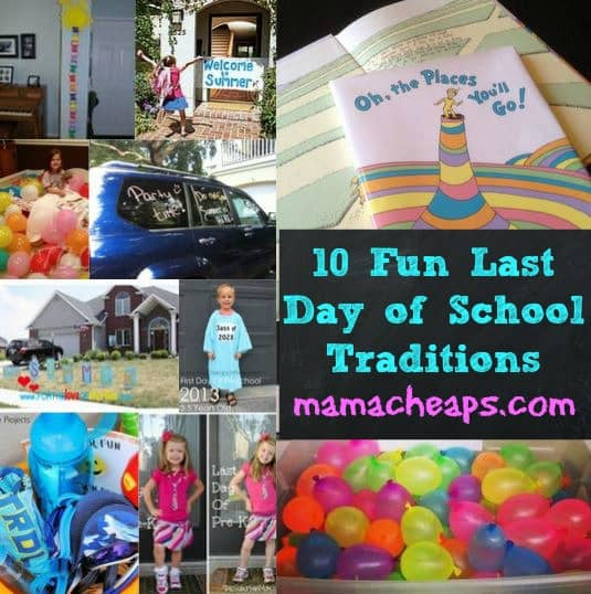 end of school fun traditions