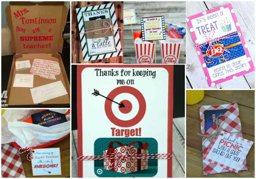 10 Teacher Gift Card Ideas with Free Printables | Mama Cheaps